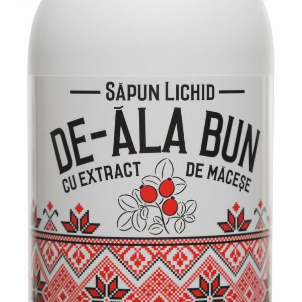 Sapun De-ala Bun cu extract de macese, lichid, 500 ml 1