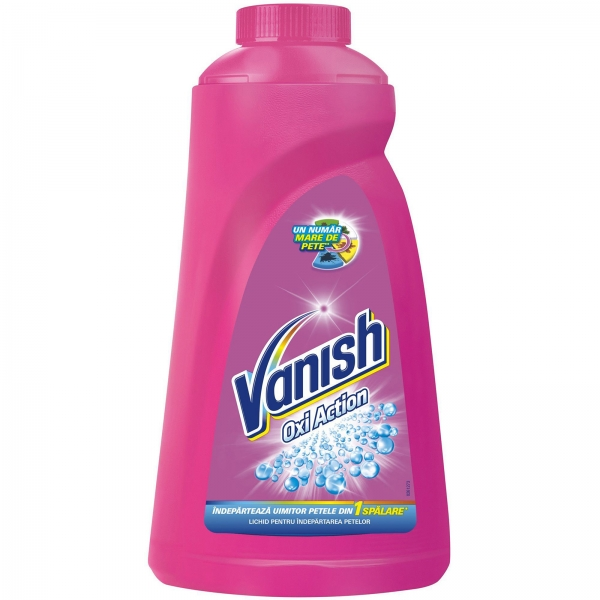 Vanish Detergent indepartare pete, 1 L, Oxi Action 0