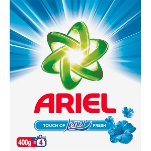 Ariel Detergent automat, 400 g, 4 spalari, Touch of Lenor Fresh0