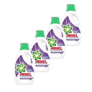 Pachet promo 4 x Ariel Detergent lichid, 2.2L, 40 spalari, Lavanda0