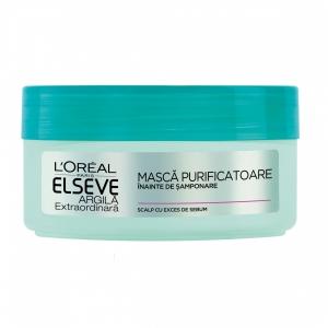 L'Oréal Elseve Masca de par pre-samponare, 150 ml, Argila Extraordinara, pentru scalp cu exces de sebum1