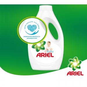 Ariel Detergent lichid, 1.1L, 20 spalari, Baby2