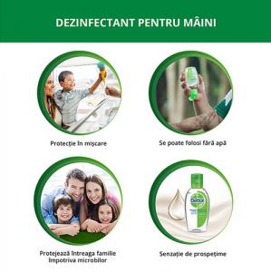 Dettol Dezinfectant pentru maini, gel, 50 ml1