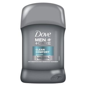Dove Deodorant stick, Barbati, 50 ml, Men+Care Clean Comfort0