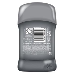Dove Deodorant stick, Barbati, 50 ml, Men+Care Clean Comfort1