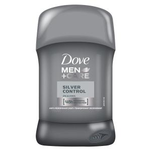 Dove Deodorant stick, Barbati, 50 ml, Men+Care Silver Control0