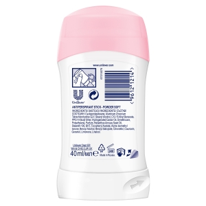 Dove Deodorant stick, Femei, 40 ml, Powder Soft1
