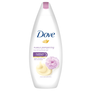 Dove Gel de dus, 250 ml, Purely Pampering Sweet Cream with Peony0