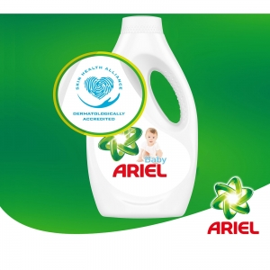 Pachet promo 4 x Ariel Detergent lichid, 2.2L, 40 spalari, Baby2