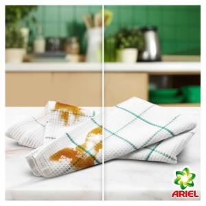 Pachet promo 4 x Ariel Detergent lichid, 2.2L, 40 spalari, Mountain Spring & Color3