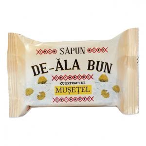 Sapun De-ala Bun, 90 g, cu extract de Musetel0