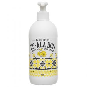 Sapun De-ala Bun cu extract de galbenele, lichid, 500 ml0