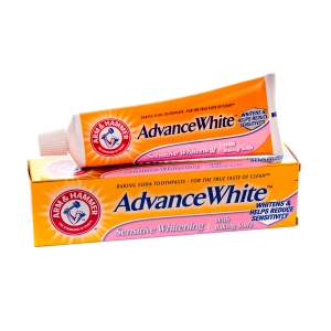 Arm & Hammer Pasta de dinti, Advance White - Sensitive Whitening, 75 ml