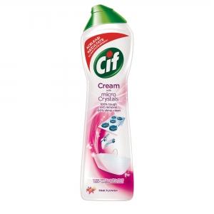 Cif Crema abraziva, 500 ml, Pink Flower