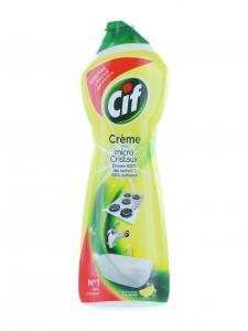 Cif Crema abraziva, 750 ml, Lemon