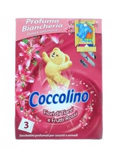 Coccolino Saculeti parfumati, 3 buc, Pink