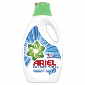 Ariel Detergent lichid, 2.2L, 40 spalari, Touch of Lenor Fresh