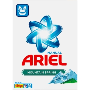 Ariel Detergent manual, 450 g, 7 spalari, Mountain Spring 3D Actives0