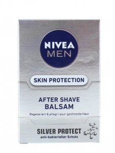 Nivea After Shave Balsam, 100 ml, Silver Protect