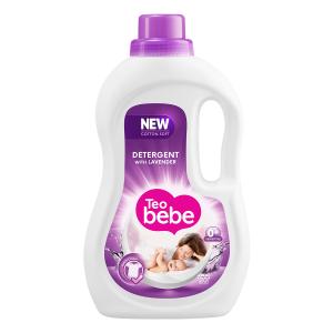 Teo Bebe Detergent lichid, 1.1 L, 20 spalari, Cotton Soft Lavender