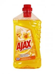 Ajax Detergent Pardoseli, 1L, Orange & Jasmine