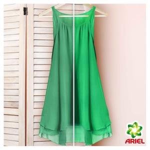 Pachet promo 4 x Ariel Detergent lichid, 2.2L, 40 spalari, Mountain Spring & Color2