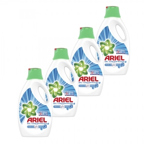 Pachet promo 4 x Ariel Detergent lichid, 2.2L, 40 spalari, Touch of Lenor Fresh