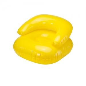 Scaun gonflabil de plaja pliabil pentru copii - Galben