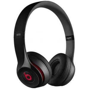 Casti Beats Solo2 On-Ear Headphones - Black - mh8w2zm