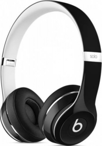 Casti Beats Solo2 On-Ear Headphones (Luxe Edition) - Black (ml9e2zm/a)