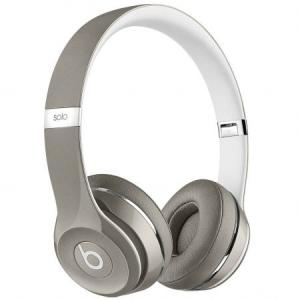 Casti Beats Solo2 On-Ear (Luxe Ed.)Silver mla42zm/a