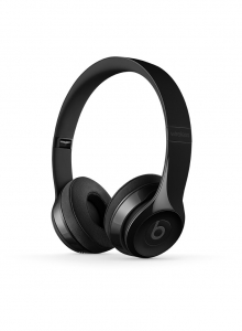 Casti Beats Solo3 Wireless On-Ear Headphones - Gloss Black mnen2zm
