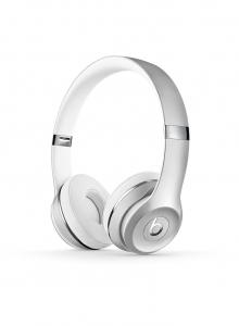 Casti Beats Solo3 Wireless On-Ear Headphones - Silver - mneq2zm