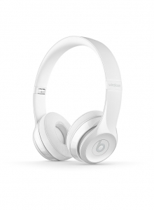 Casti Beats Solo3 Wireless On-Ear Headphones - Gloss White - mnep2zm