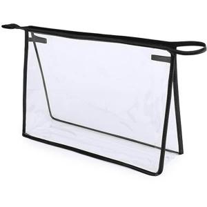 Geanta cosmetice transparenta - Contur Negru
