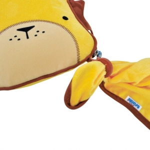 Set perna si pled Trunki SnooziHedz Lion