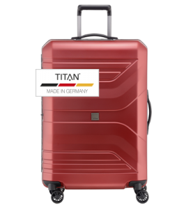 Troler TITAN PRIOR 4w  L Rosu