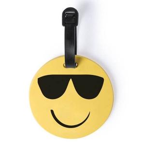 Eticheta de calatorie Smiling Face - Ochelari