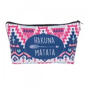 Geanta cosmetice 3D - Hakuna Matata