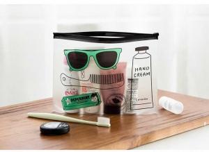 Geanta de cosmetice transparenta