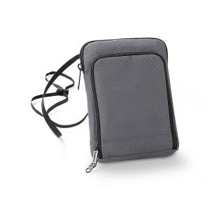 Geanta-portofel pentru calatorii gri