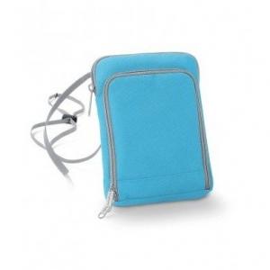 Geanta-portofel pentru calatorii bleu