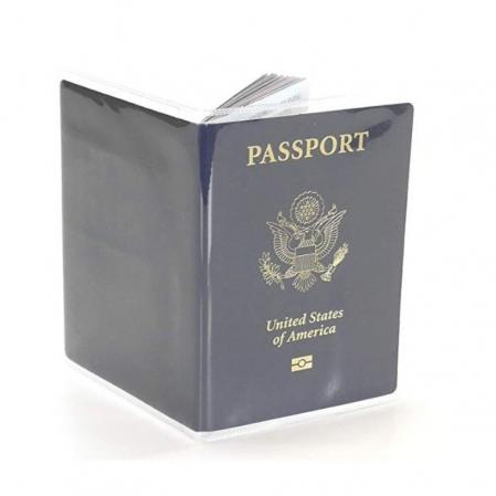 Husa pasaport/ Coperta Pasaport - Transparent lucios