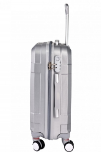 Klept Troler ABS TRAVEL-60 Argintiu