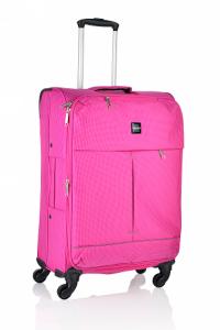 Mirano Troler Textil 4 roti Malaga-65 roz