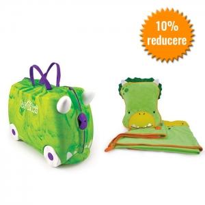 Set calatorie copii verde