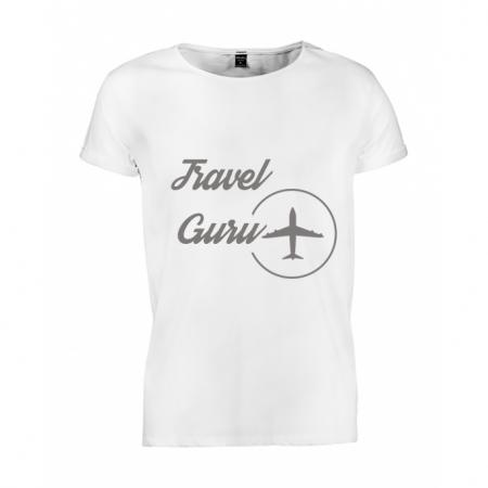 Tricou barbati Travel Guru