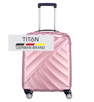Troler TITAN SHOOTING STAR 4 roti 55 cm- S Rose