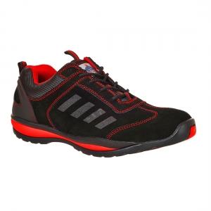 Pantofi de protectie STEELITE LUSUM S1P HRO - Rosu