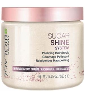 Scrub pentru par fara stalucire Matrix Biolage Sugar Shine, 500ml